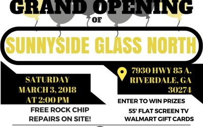 Grand Opening Of Sunnyside Glass North