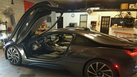 Julio Jones Sister In Law 2014 BMW i8 Auto Glass Repair